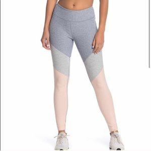 Outdoor Voices color-block leggings